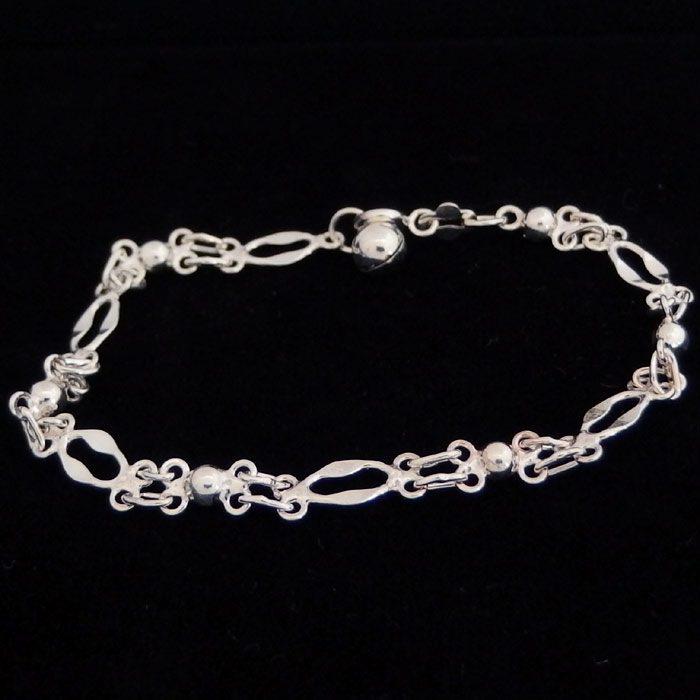 Home Sterling Silver Bracelets Womens Chain Bracelet Nz