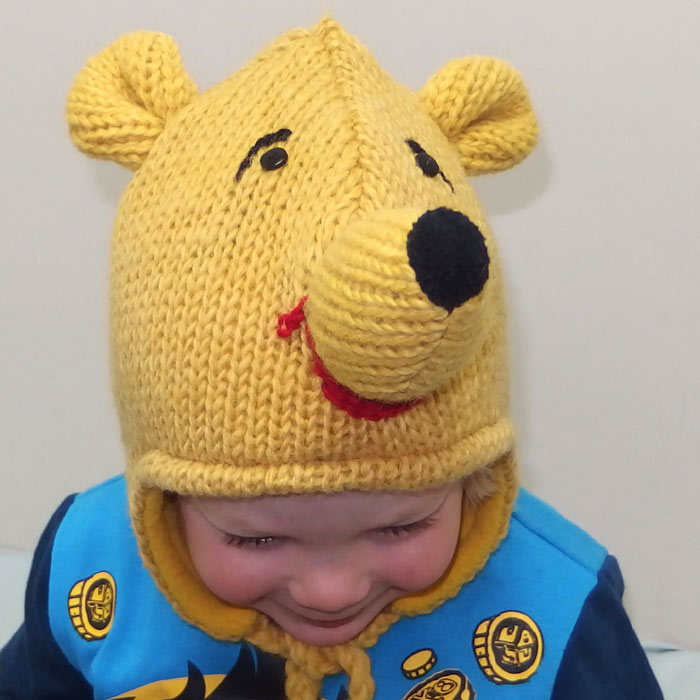 09f2e0c5682 Pooh Bear Animal Hat - Silver Surfers